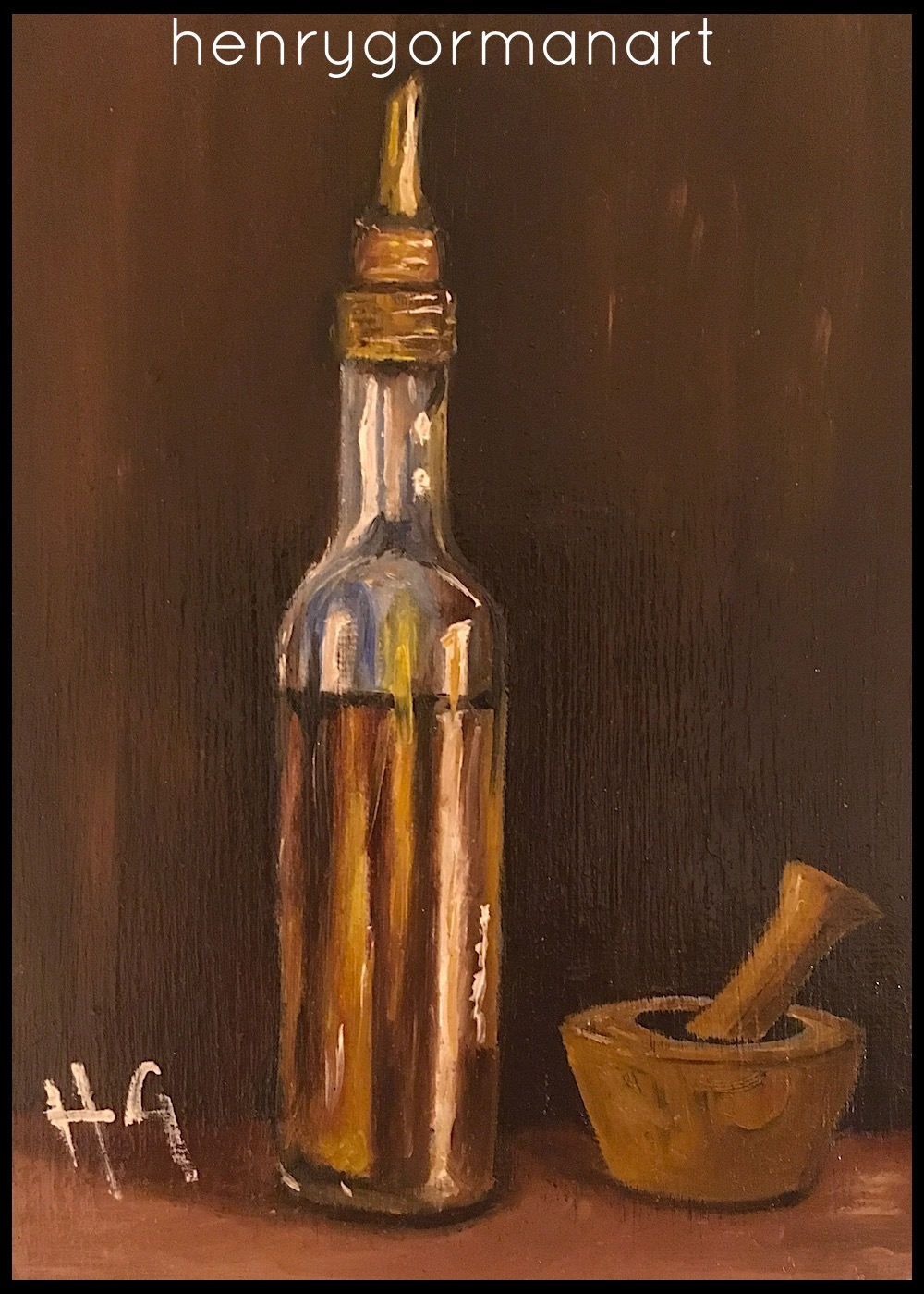 'Oil and Pestle'