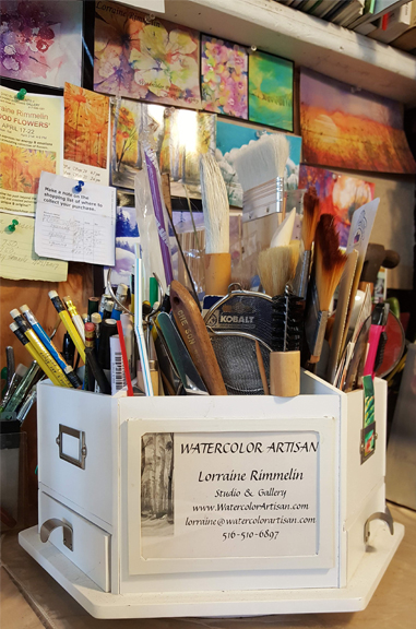 Creative Life = Happy Life - Lorraine offers private and small group lessons. Artists are excited to visit and paint in a professional studio. This is a working studio so expect to hear noises & see other artists as they go about their creative process. You can watch but please don't get in the way.