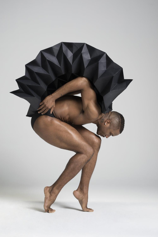 plie project melika dez miss clousy dance paper art origami ballet