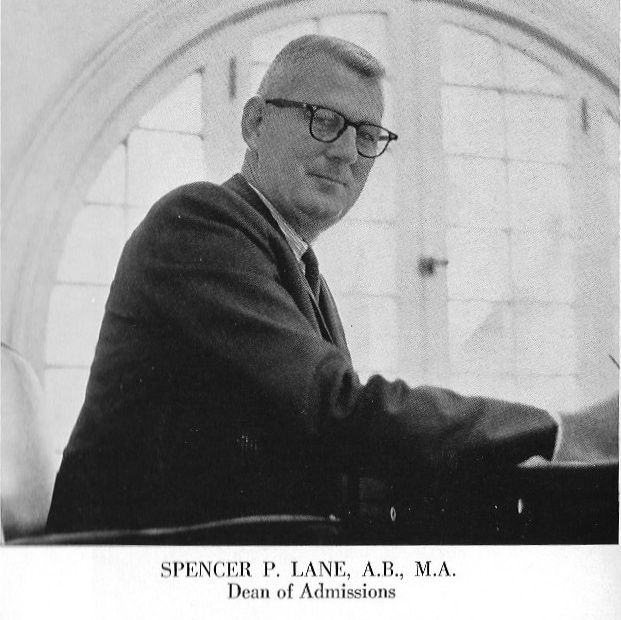 This is a picture of my grandfather from the 1965 Rollins College yearbook.