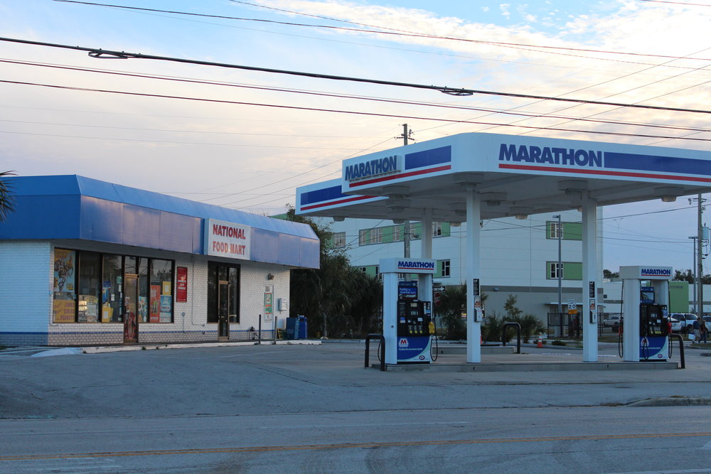 Marathon Gas Station - CLOSED