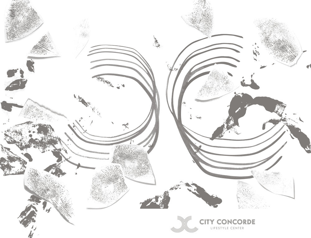 City Concorde + 101studios collaboration – illustration, 2018