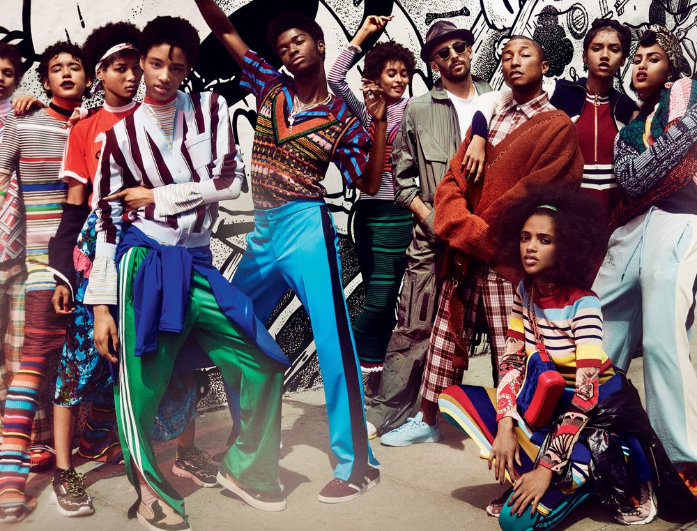 Street Cred, Photo by Mario Testino courtesy of VOGUE