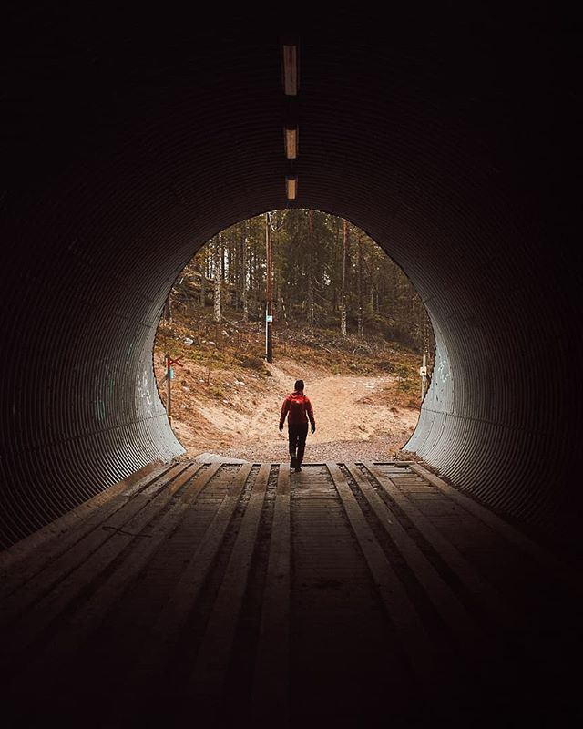 DSCF8829 • • • • • #tunnels #fujixpro2 #hiking #outdoors #sweden_photolovers #ig_countryside #artofvisuals #wilderness #visitsweden #noicemag #camping #imaginarymagnitude #fujiframez #myfujifilm #hikingadventures #forest #fujixseries #hike #portbox #crossroad #fuji_xseries #phroommagazine #powerlines #trees #forgotten #ig_sweden #walk #woods #walking #tunnel