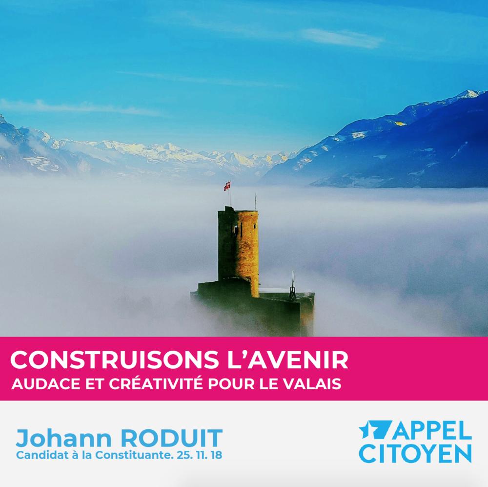 Johann Roduit - Appel Citoyen