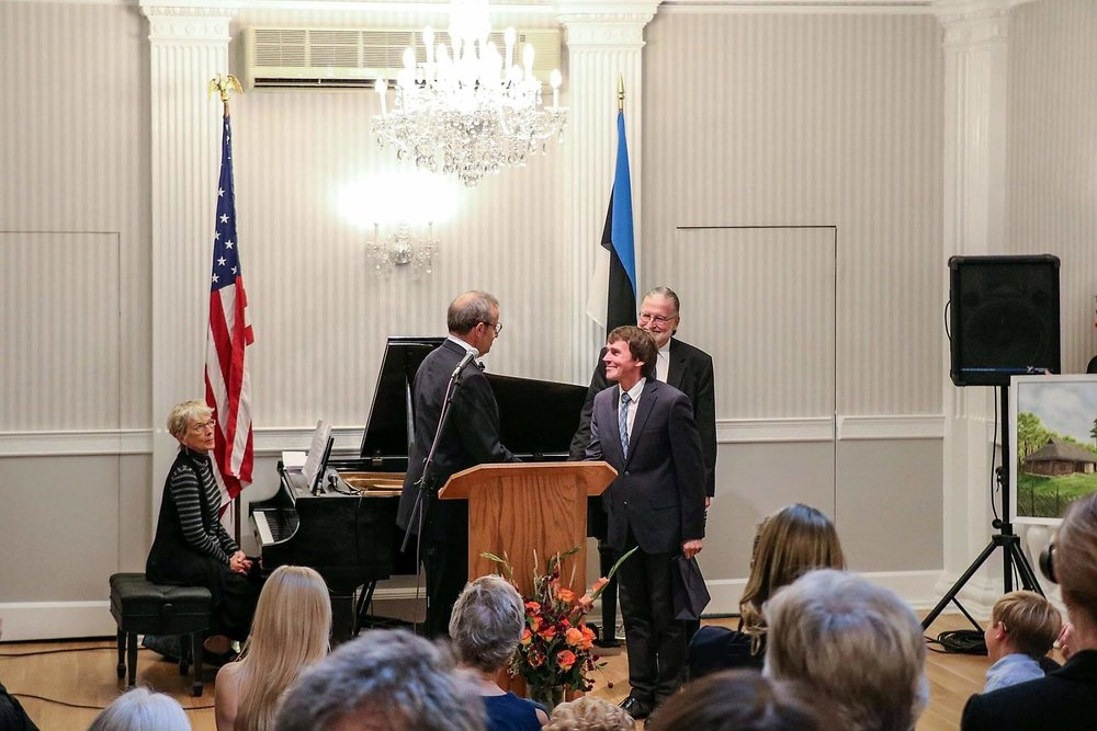 Reception with the President of Estonia Toomas H Ilves