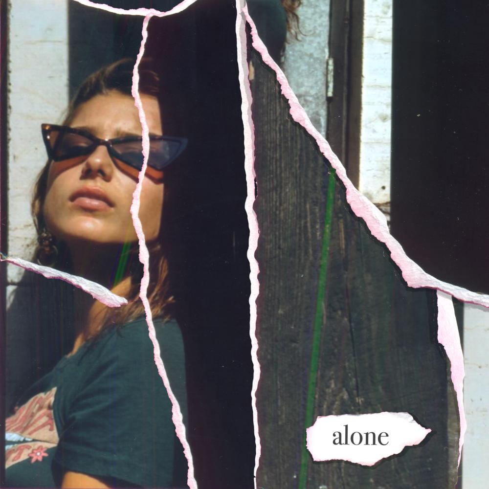 "Darja cover art for new single ""Alone"", Photo by @alexparkermedia"