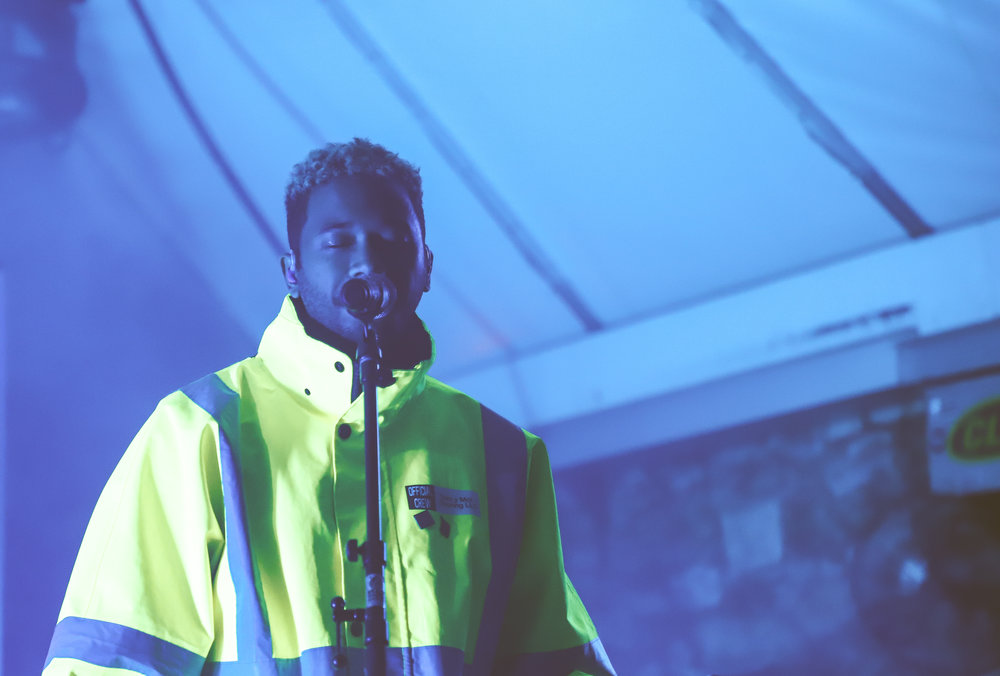 Toro y Moi recently came out with an album titled  Outer Peace
