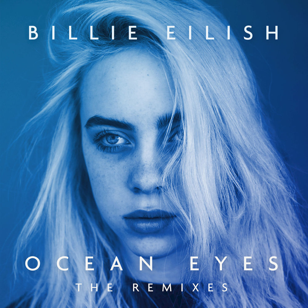 Billie's Album Cover:  Ocean Eyes