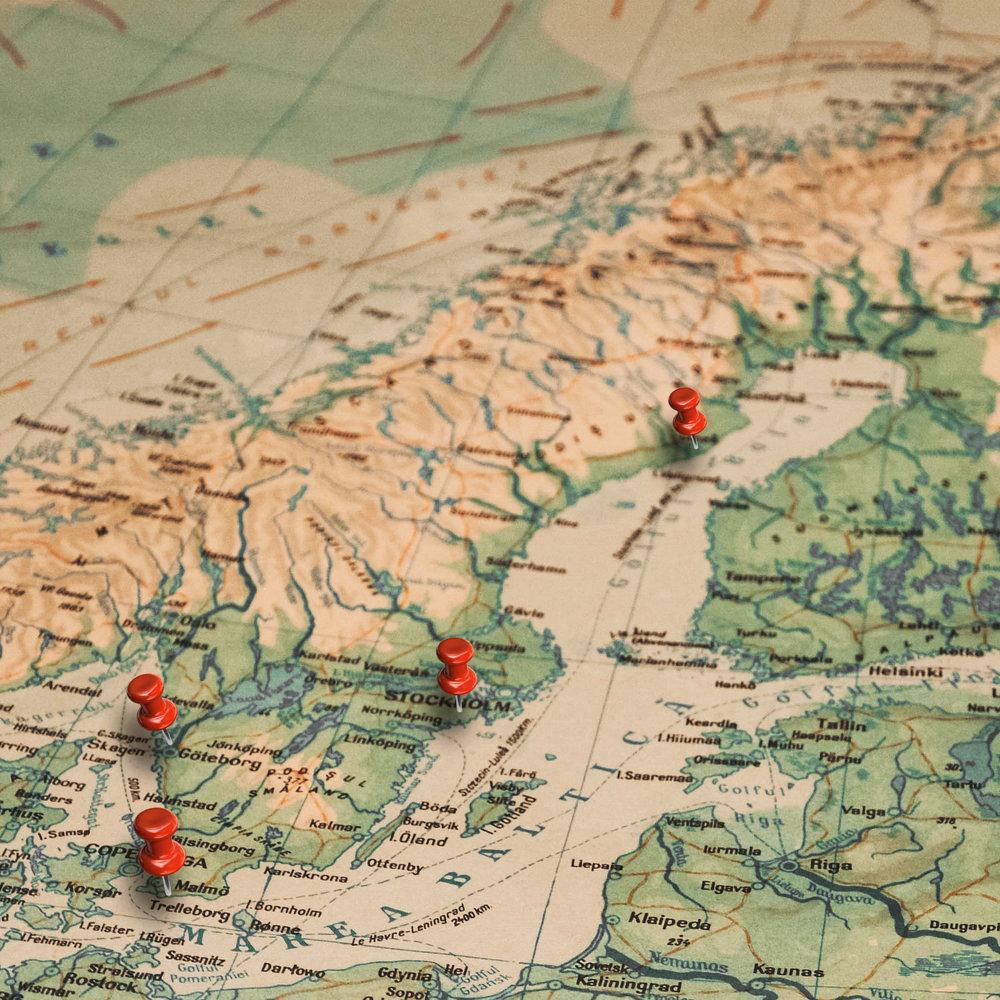 Utöver Umeå, Stockholm, Göteborg och Malmö finns vi i Skellefteå, Östersund, Örnsköldsvik, Uppsala, Jönköping och Varberg.