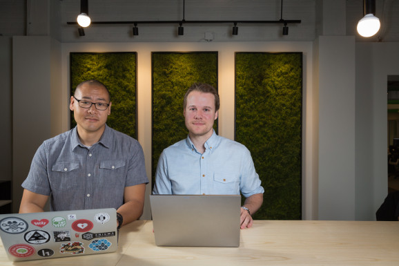 Duo security cofounders Dug Song (left) and Jonathan Oberheide (right). PC: Duo Security