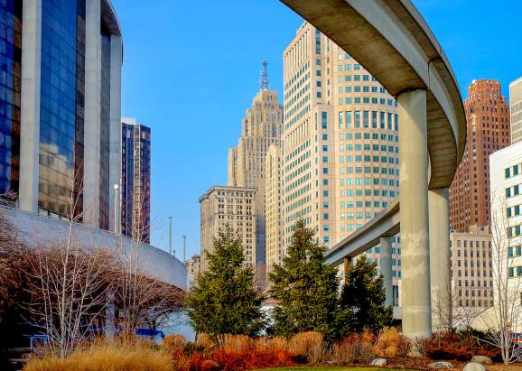 Above: Detroit, Michigan PC: Shutterstock