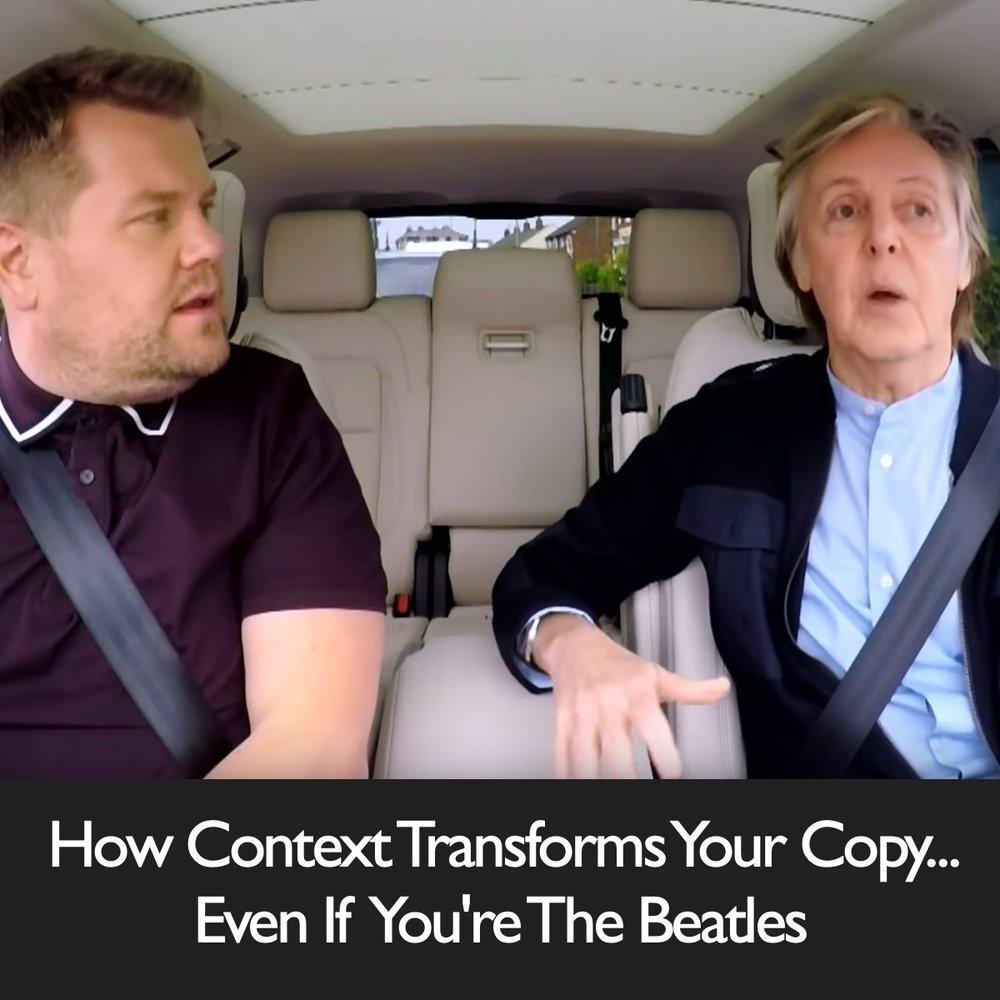 How Context Transforms Your Copy