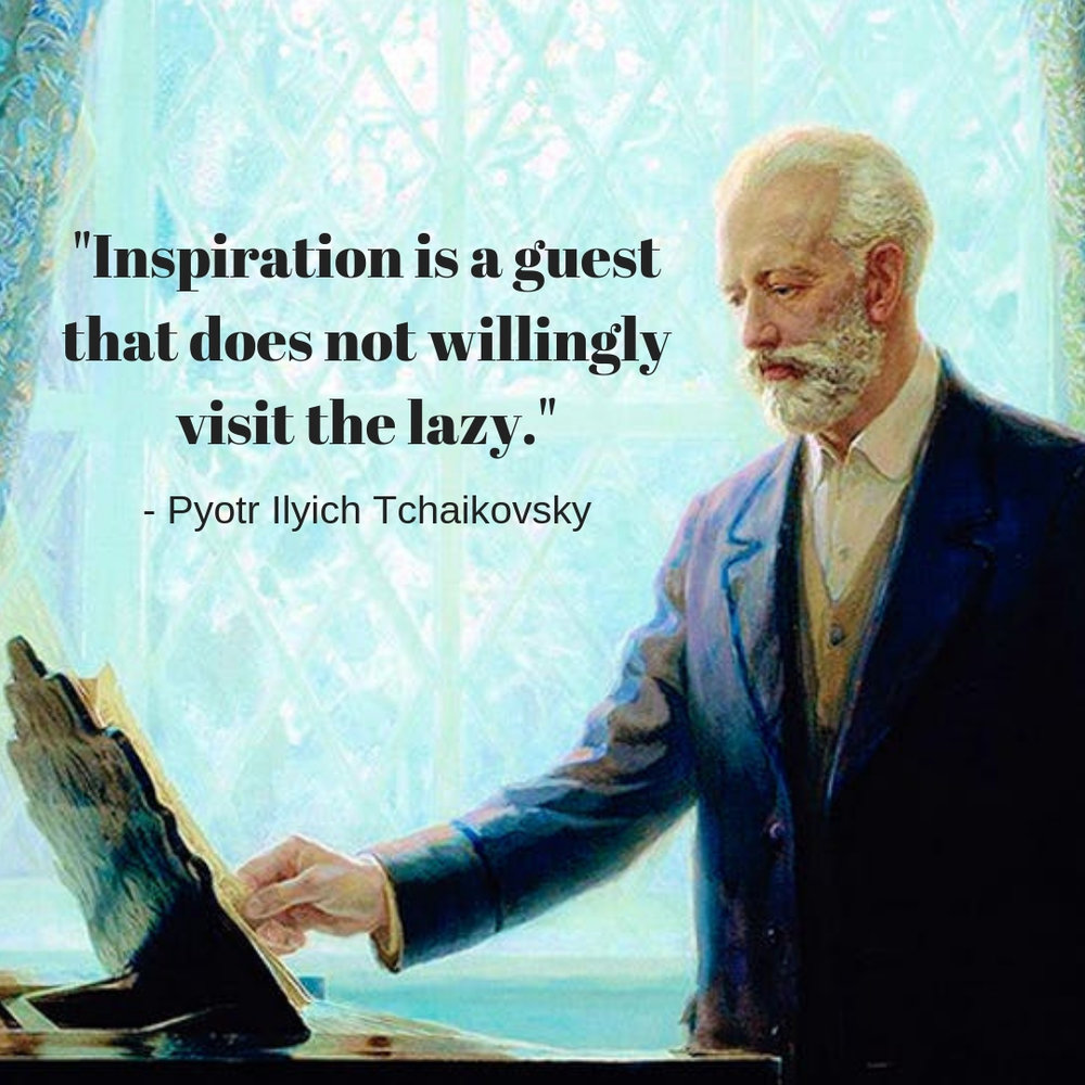 """""""Big Idea"""" from Inspired Russian Composer"""