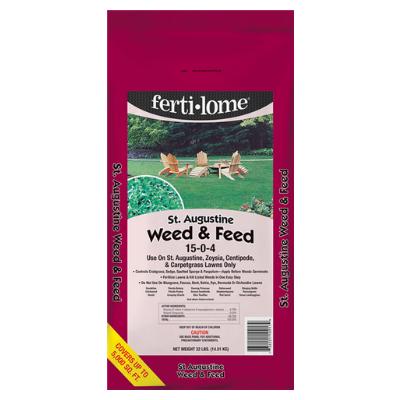 St. Augustine Weed & Feed