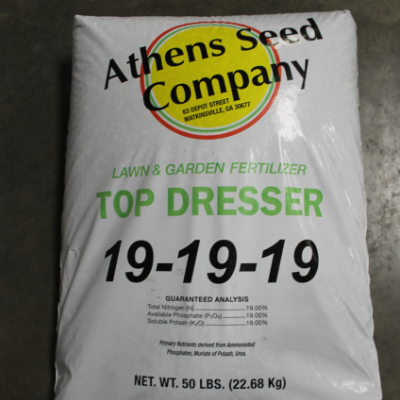 Athens Seed Company 19-19-19 Top Dresser Lawn & Garden Fertilizer