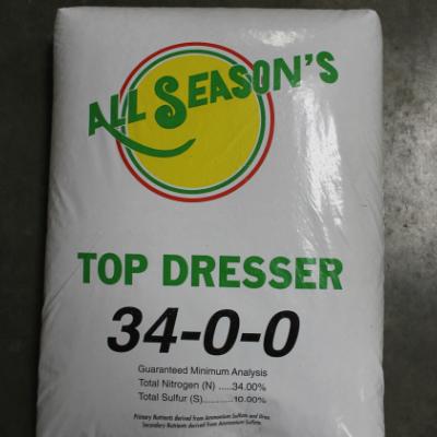All Season's 34-0-0 Top Dresser Lawn & Garden Fertilizer