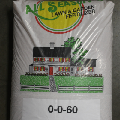 All Season's 0-0-60 Lawn & Garden Fertilizer