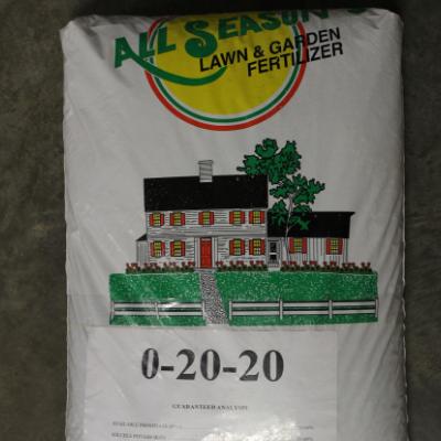 All Season's 0-20-20 Lawn & Garden Fertilizer