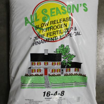 All Season's 16-4-8 Slow Release Nitrogen Fertilizer