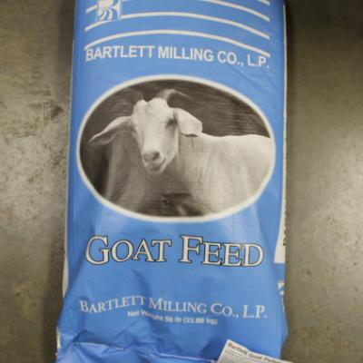 Bartlett Milling Company Goat Feed Pellets