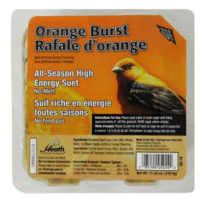 Heath Orange Burst Suet