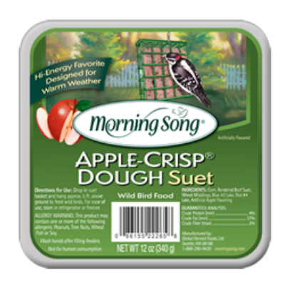 Morning Song Apple Crisp Dough Suet