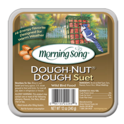 Morning Song Dough-Nut Suet