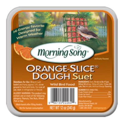 Morning Song Orange Slice Dough Suet