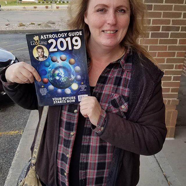 Got my 2019 Astrology Guide!!! #theleoking #2019astrologyguide #davidlawrencepalmer