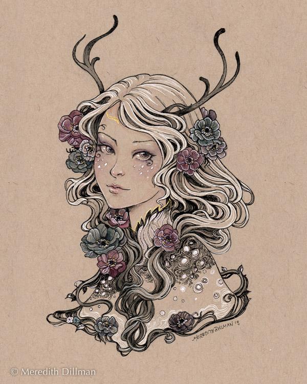 Anemone Faun Ink