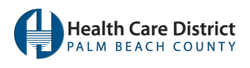 Health Care District of Palm beach County Logo