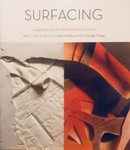 Surfacing    Exhibition catalogue