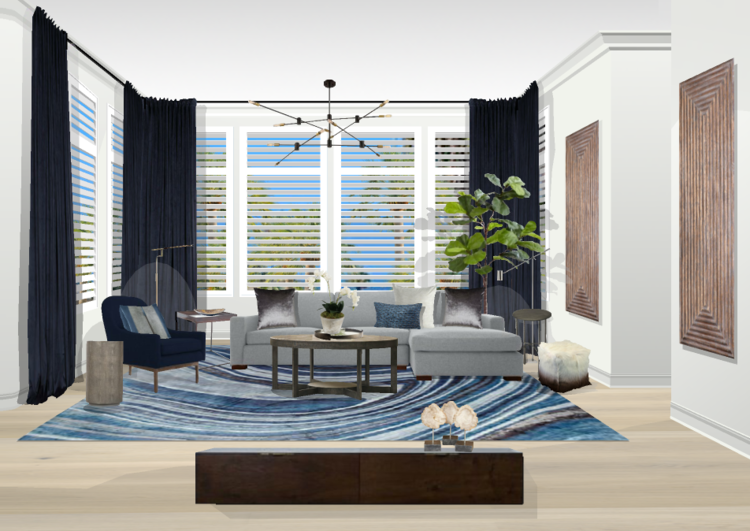 LIVING ROOMS, DINING ROOMS, HOME OFFICE, BEDROOMS, FAMILY ROOMS