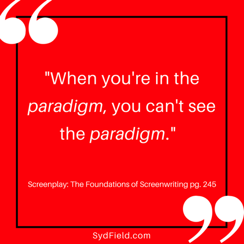 """""""Seeing The Paradigm"""" by Kris Dyson - My guest blog post on screenplay structure - SydField.com"""