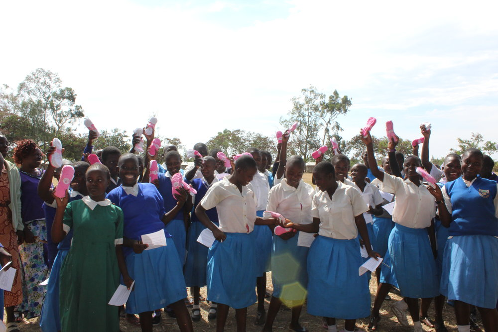 To us, innovation is a 12 year old girl with access to a sanitary pad. -