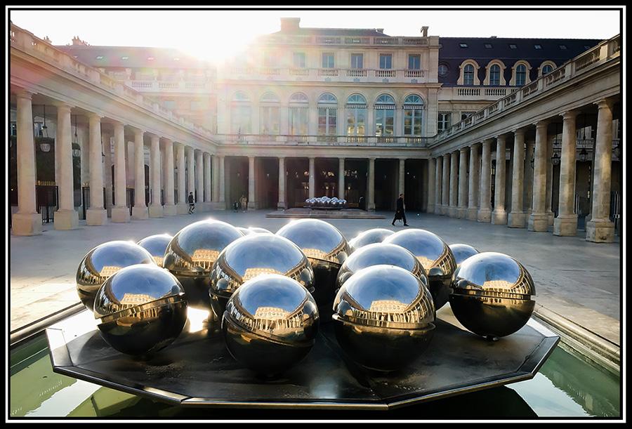 Paris - Palais Royale   Fujifilm X100S © 2017 Miguel Witte