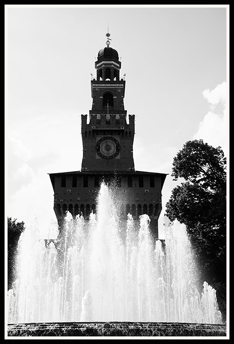 Milan - Sforza Castle   Fuji XT1 with Fujinon XF 18-135mm © 2017 Miguel Witte