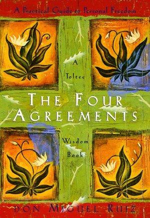 6. The Four Agreements, Don Miguel Ruiz - Genre: Spiritual Self-helpSamenvatting van het boek in twee zinnen: Don Miguel Ruiz geeft vier inzichten (wees onberispelijk in je woorden, vat niets persoonlijk op, ga niet uit van veronderstellingen, doe altijd je best) om een gelukkig en vrij mens te worden. Favoriete quote: 1. Be Impeccable With Your Word2. Don't Take Anything Personally3. Don't Make Assumptions4. Always Do Your Best