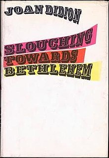 "2. Slouching Towards Bethlehem, Joan Didion - Genre: EssaysSamenvatting van het boek in twee zinnen: Een collectie journalistieke essays die de revolutie in de Verenigde Staten tijdens de jaren zestig beschrijft. Favoriete quote: ""I think we are well-advised to keep on nodding terms with the people we used to be, whether we find them attractive company or not. Otherwise they turn up unannounced and surprise us, come hammering on the mind's door at 4 a.m. of a bad night and demand to know who deserted them, who betrayed them, who is going to make amends. We forget all too soon the things we thought we could never forget. We forget the loves and the betrayals alike, forget what we whispered and what we screamed, forget who we were."""