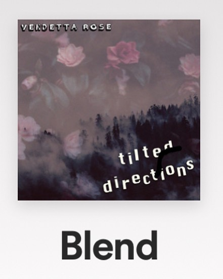 """💥 Exciting news!! 💥 Our song 'Blend' has hit over 1000 streams on Spotify! 🤘This is a song very close to home for us as it tells of the struggles of being a social outcast particularly in a school setting. On the outside it seems you're just another face in the crowd. But there's always more than meets the eye. """"So easy to blend in, but  hard to be different."""" 🖤🖤🖤 • • • • • #supportlocalmusic #supportlocalbands #supportnewmusic #newmusic #music #blend #iliketobedifferent #vendetta #rose #rockmusic #originalmusic #rockband #rockballad #pianorock #newjerseybands #njbands #modernrock #musicislove #musicislife #beyourself #originality #makeadifference"""