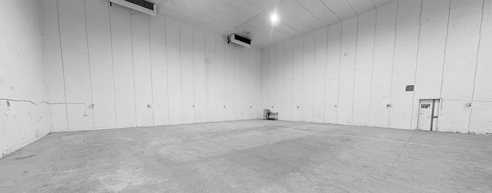 STAGE 3 | 4,359 SQ. FT. - Space dimensions: 21.9m long x 18.5m wide x 9.0m highTotal area: 4,359 sq. ft.Stage 3 is next to Stage 2 at Popup Studios site in Inchicore with access to wardrobe, dressing rooms and make up with ample on-site parking, production offices and canteen facilities.
