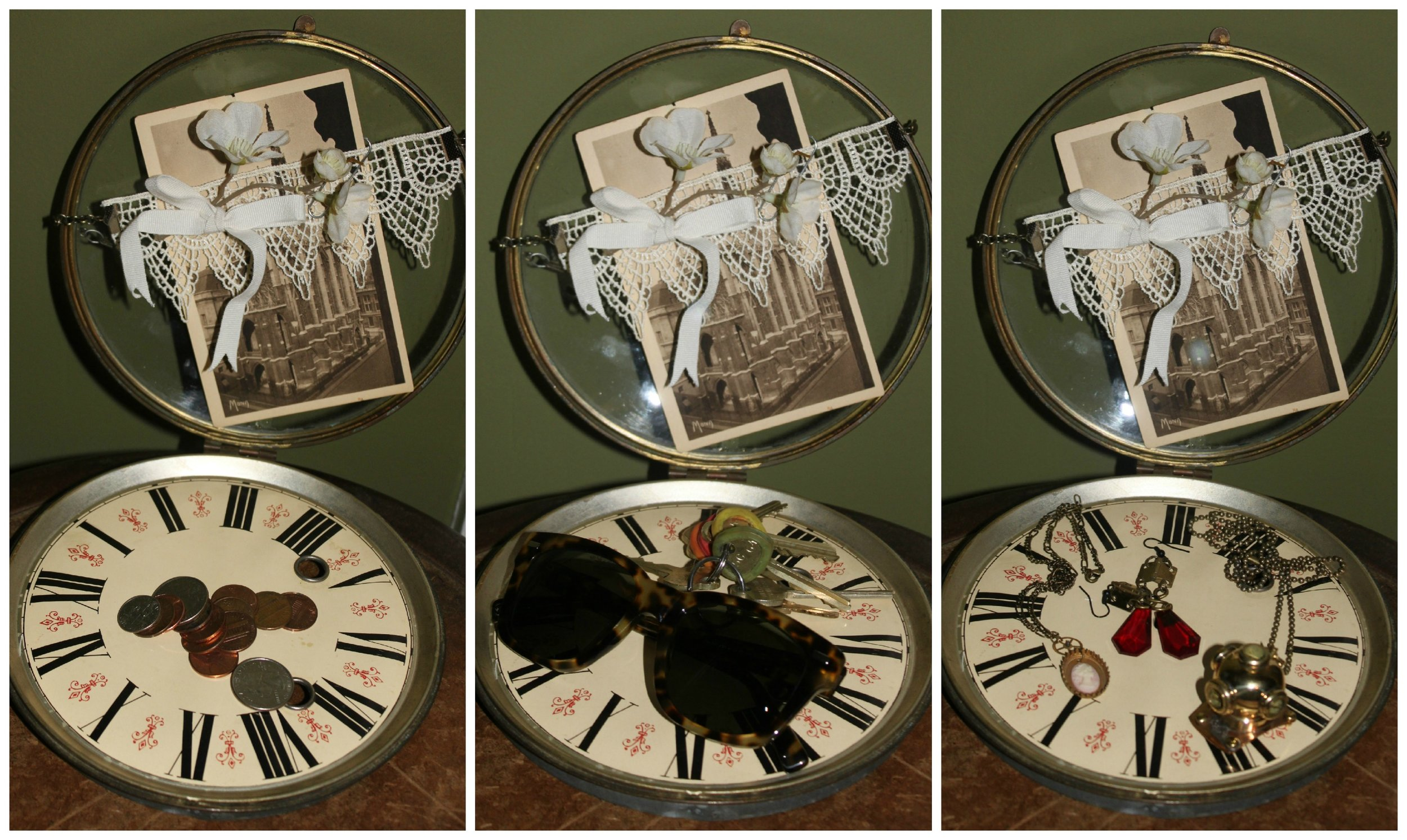 Steampunk Home Decor Catch All Collage