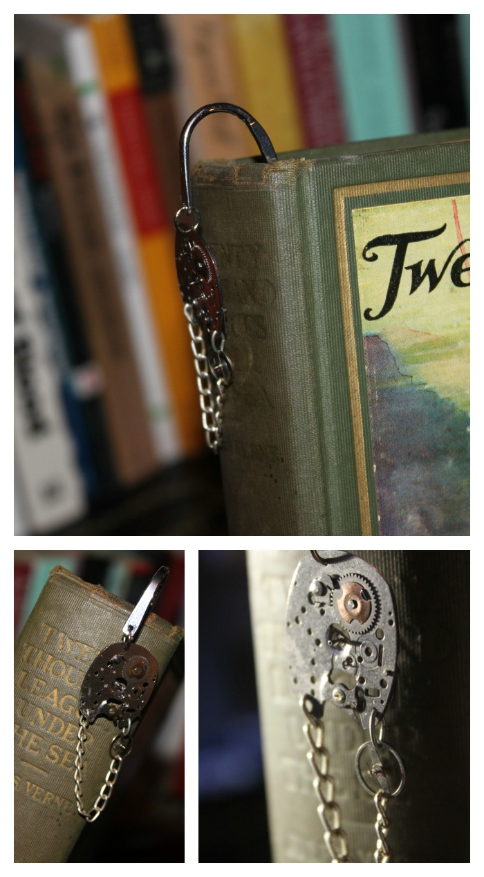 Steampunk Bookmark Collage