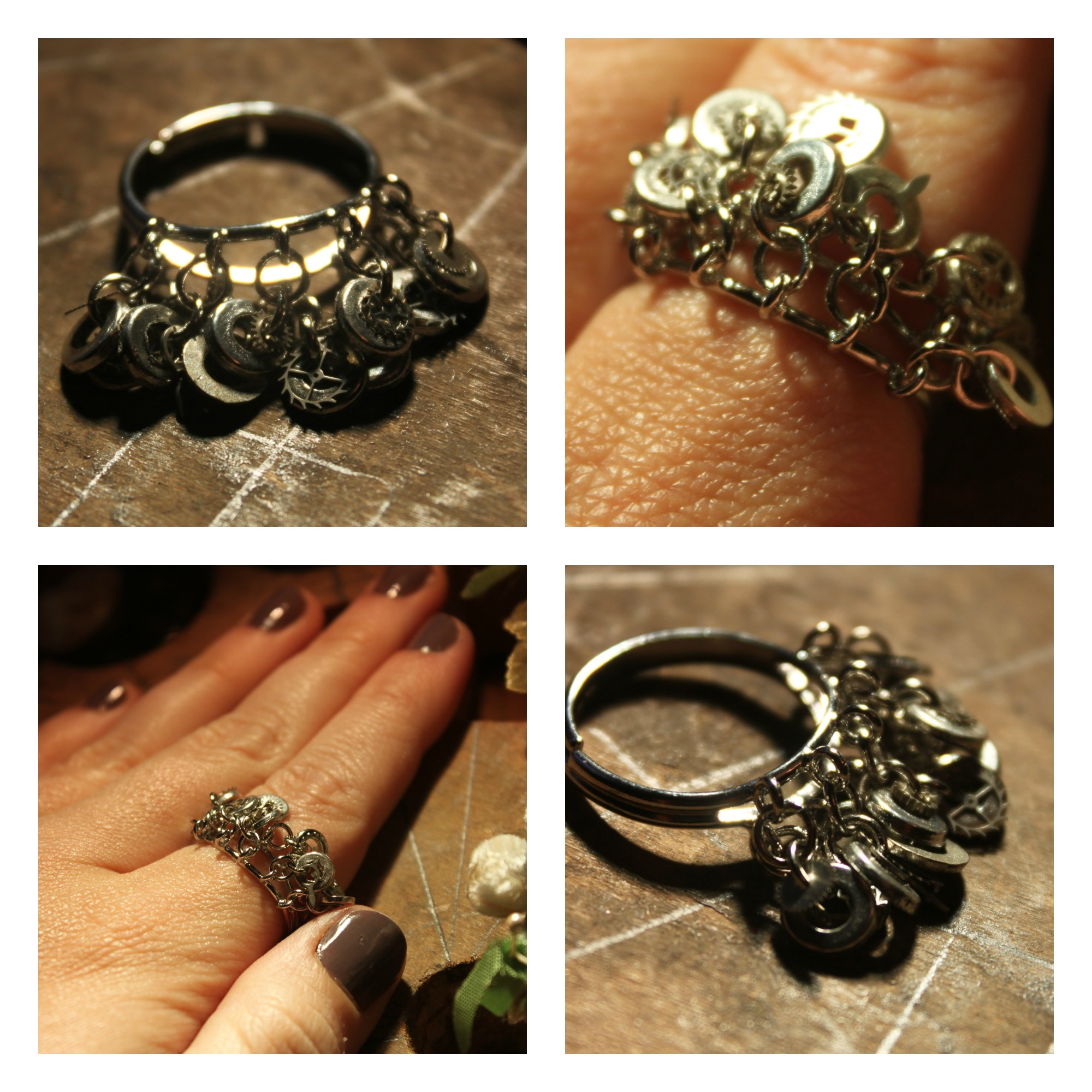 Steampunk Ring 1 Collage