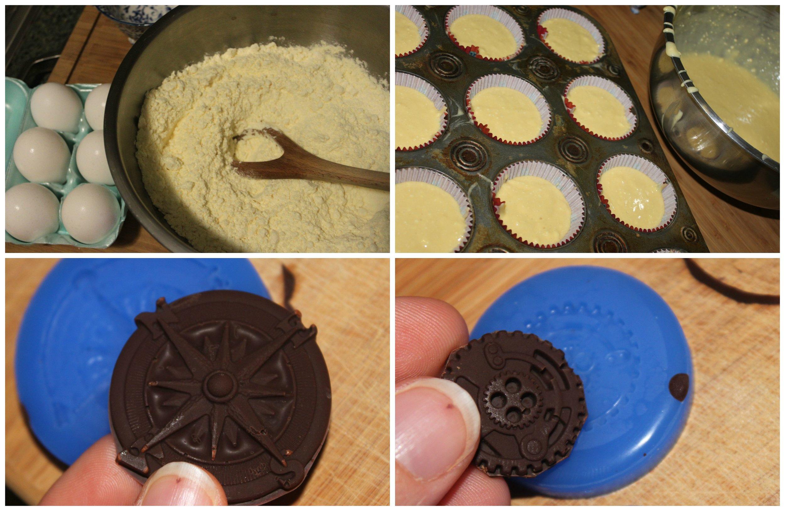 Steampunk Cupcake 1