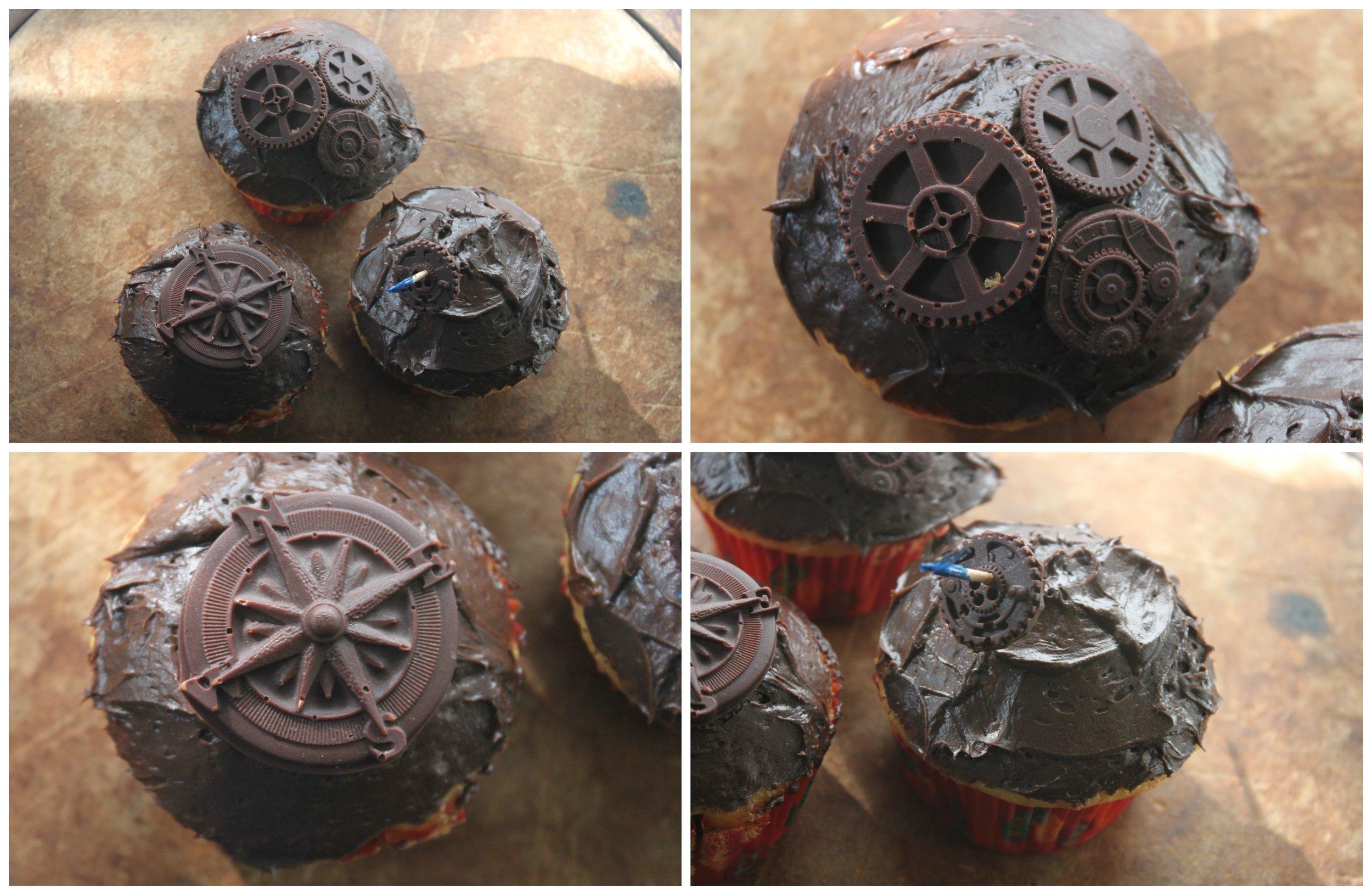 Steampunk Cupcake 4