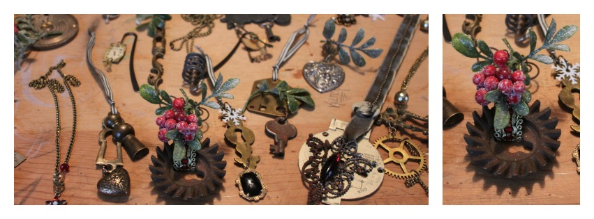 Been making steampunk ornaments for The Alliday Show on Saturday! So excited!