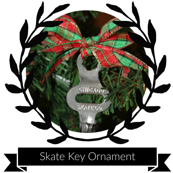 Supplies & Tools - Skate KeyRibbonScissorsTree Hook