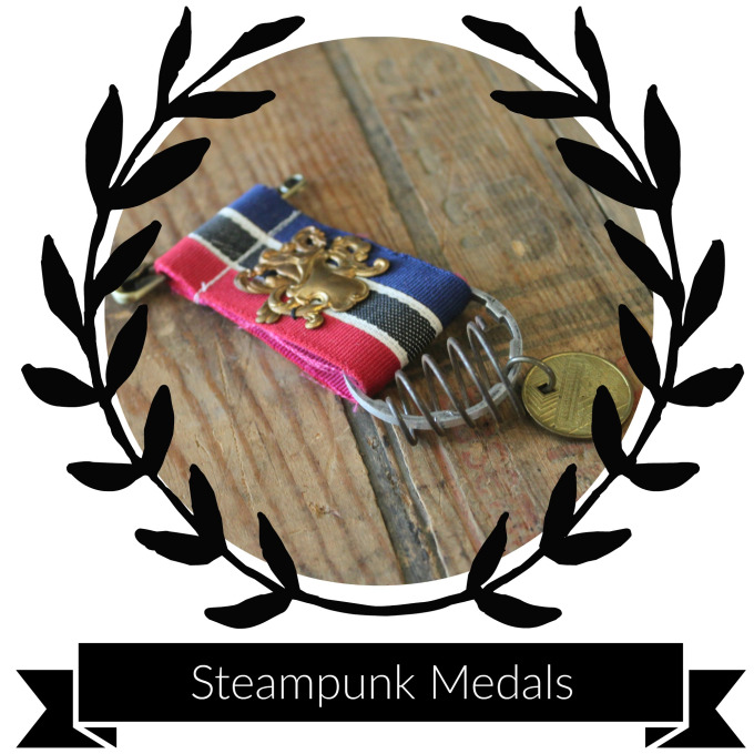 Supplies & Tools - Medal Ribbon (any length you desire)Bicycle Gear (from a cassette)Pocketwatch part (preferably one of the cover pieces which are more ornamental)PinSafety pinEE3000 or 5000 glueNeedle & Thread (if you prefer to hand sew) or Sewing Machine (which I'd suggest)Scissors